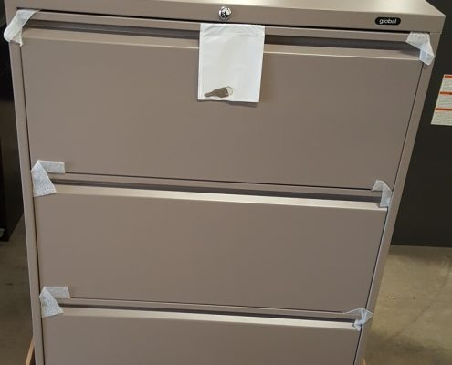 Common Sense Office Furniture carries a varied selection of new and used file cabinets, perfect for your storage needs.
