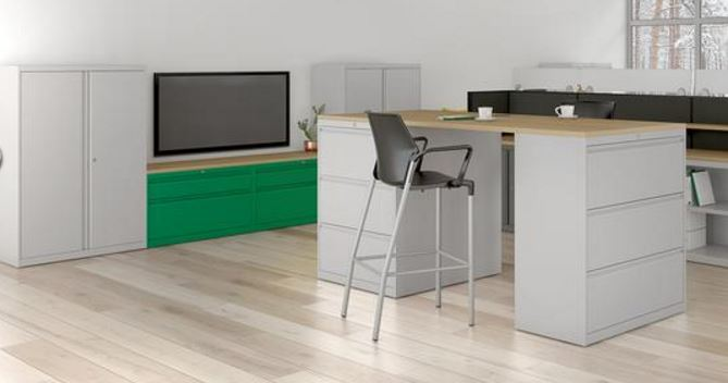 Common Sense Office Furniture carries a large number of filing cabinets, perfect for any office storage needs.