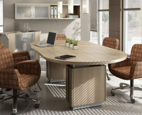 Common Sense Office Furniture carries a large number of conference tables from different manufacturers, from Global to JSI.