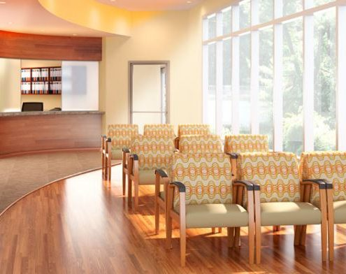 Common Sense Office Furniture carries a large variety of waiting room furniture from different manufacturers, perfect for any healthcare setting.