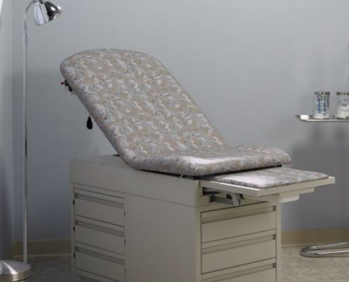 Common Sense of Orlando carries exam room furniture from several manufacturers, from intensa to global.