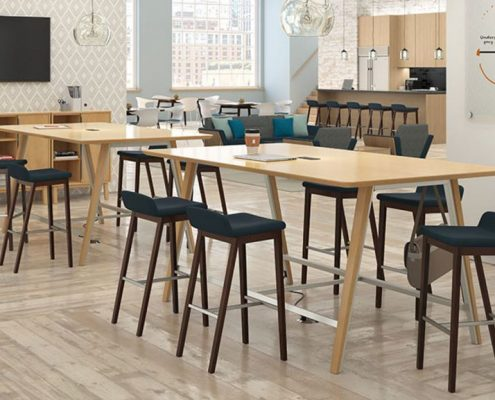 Common Sense Office Furniture carries a wide variety of stools for a large number of settings, whether it's a bar or outdoor lounge.