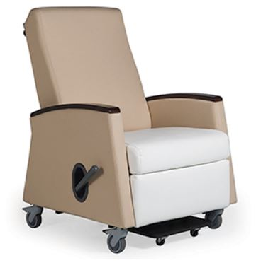 Common Sense of Orlando carries hospital chairs from several manufacturers, from lay-z boy recliners to Kellex.