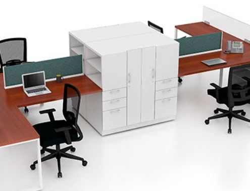 Common Sense Office Furniture carries a large number of workstations from different manufacturers, from Maxon to JSI.