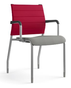 Common Sense Office Furniture carries a wide variety of guest chairs from different manufacturers, like SitOnIt, Global, or JSI.
