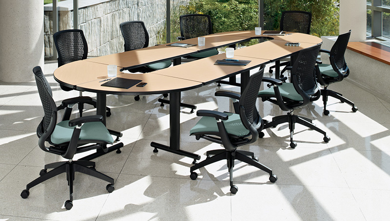 Global ConnecTABLES Common Sense Office Furniture - Mobile conference table
