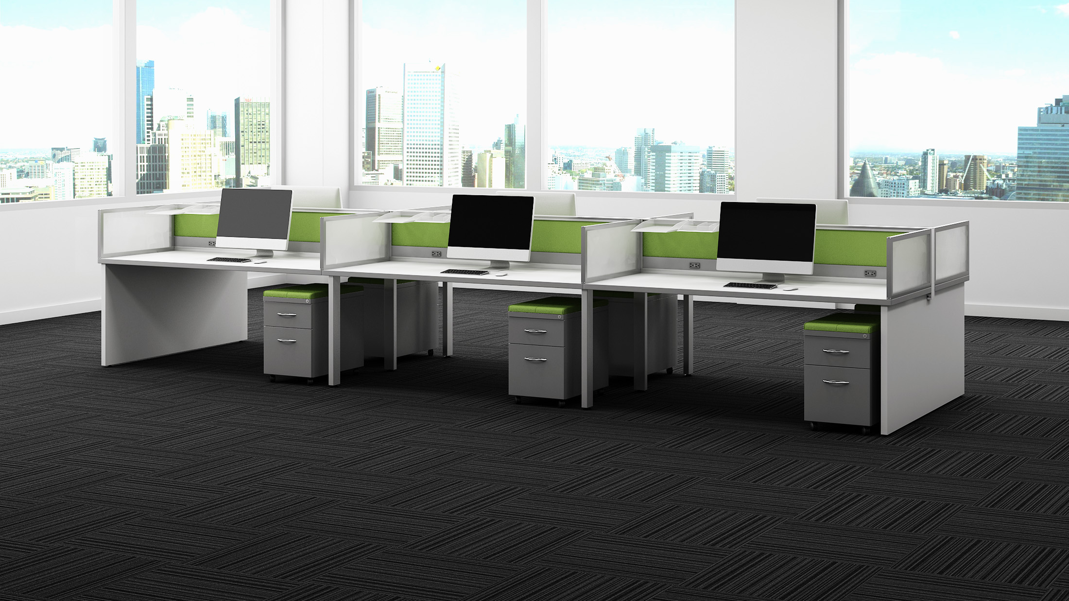 Enwork Grid Environments Common Sense Office Furniture