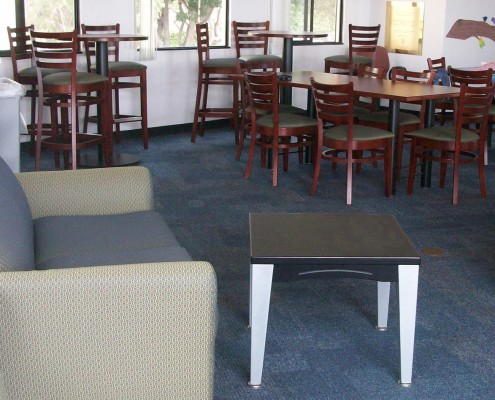 Our educational dining area furniture at Common Sense of Orlando will cover a wide range of settings, from large open spaces to smaller classrooms.