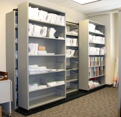 Common Sense Office Furniture carries Aurora medical storage units for an organized hospital setting.