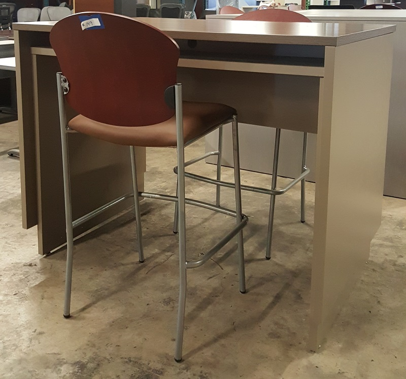 Used Training Room Tables Common Sense Office Furniture - Bar height conference table