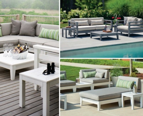 Common Sense of Orlando offers outdoor dining furniture that's a perfect fit for either a casual bar or a large restaurant setting.