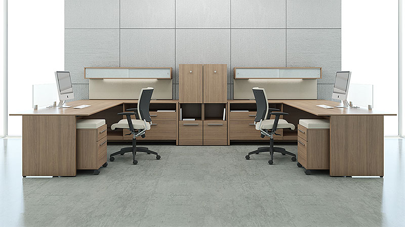 Relatively LEFT- AND RIGHT-HANDED L-SHAPE DESKS - Common Sense Office Furniture OP13