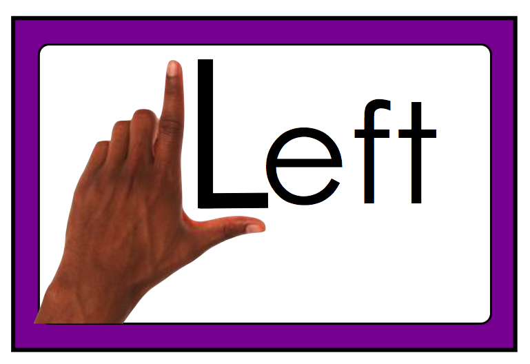 how to say left to right or right to left