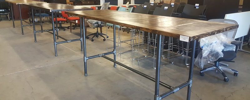 Common Sense Office Furniture prides itself on the incredible variety of used conference tables and cubicles that we have in stock.