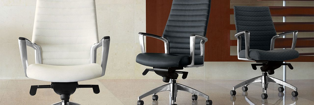 Common Sense Office Furniture carries a wide variety of new office chairs, perfect for multiple settings.