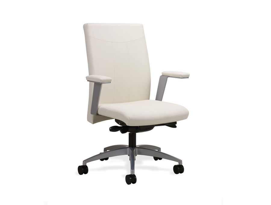 Common Sense Office Furniture carried a large number of executive chairs from different manufacturers, like Global or JSI.